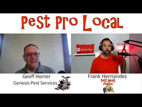 Geoff Horner of Genesis Pest Services Markle Indiana How To Grow More After Two Years In Business