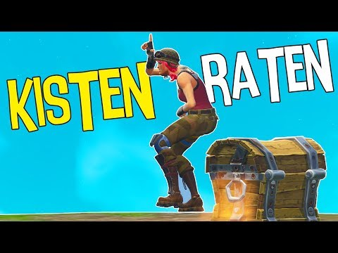 KISTEN RATEN CHALLENGE mit Mexify | Fortnite Battle Royale