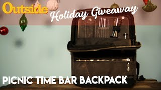 Holiday Giveaway: Picnic Time Bar Backpack