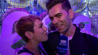Beatriz Gosta no espaço VIP | NOS Alive