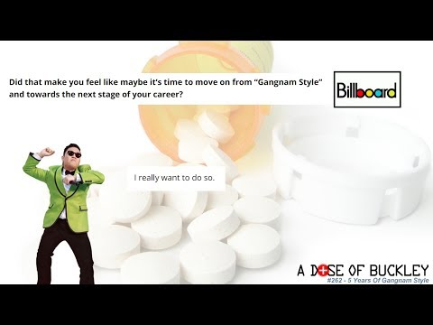 5 Years of Gangnam Style - A Dose of Buckley