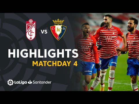 Granada Osasuna Goals And Highlights