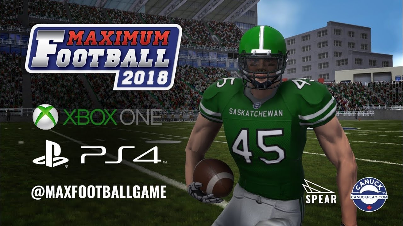 New Ncaa Football Like Game Out Right Now Maximum Football