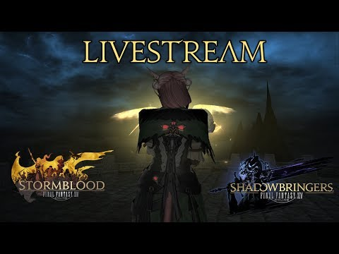 Livestream FFXIV - final steps for SAM rotation video (gearing and