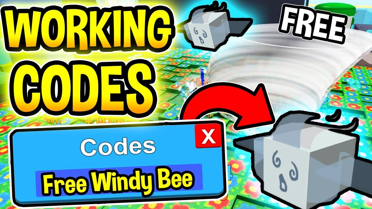 Working All 26 New Bee Swarm Simulator Codes Free Windy Bee