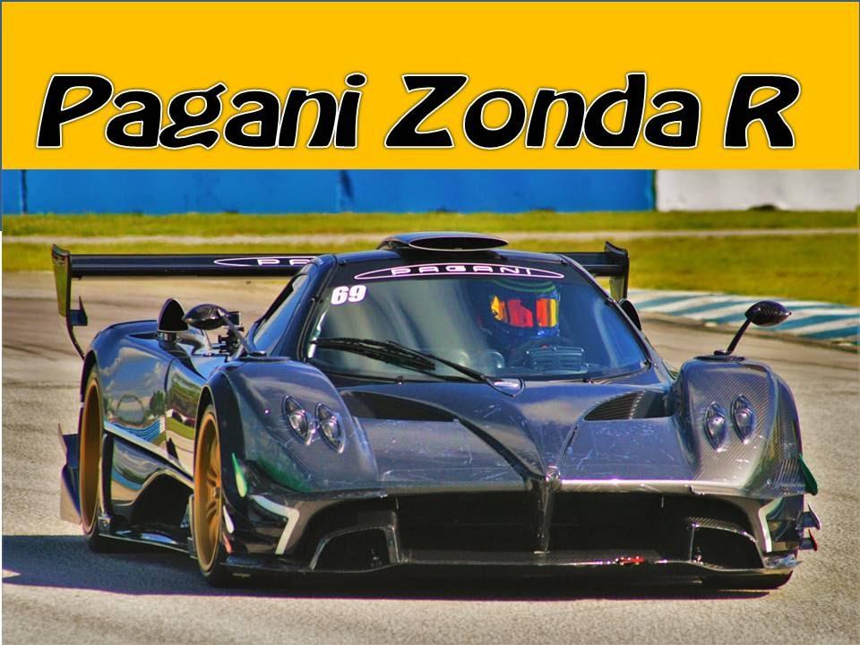 Pagani Zonda R Supercar Mill Racecar Sebringraceway To Limit