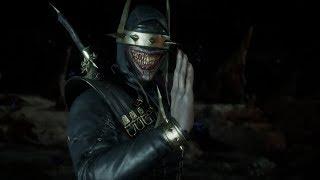 Mortal Kombat 11 - The Batman Who Laughs VS Darkseid