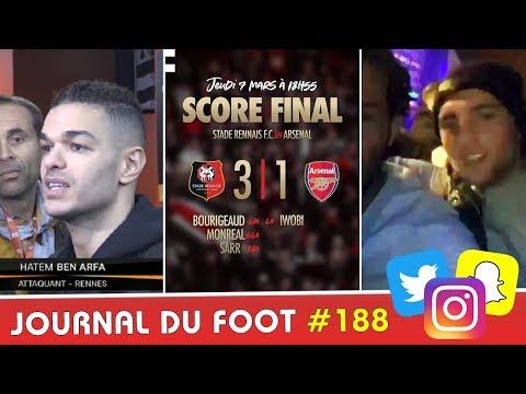 RABIOT en boite après la défaite du PSG, BEN ARFA tacle EMERY, l'exploit de RENNES face à Arsenal