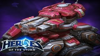 ♥ Heroes of the Storm (Gameplay) - Sgt. Hammer, Fury of the Storm (DQ#43)