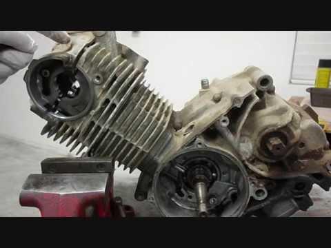 My Old ATC 185, Part 6, Remove Cylinder, Head, Crankshaft ...