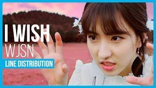 Video WJSN (Cosmic Girls) - I Wish Line Distribution (Color Coded) download MP3, 3GP, MP4, WEBM, AVI, FLV Maret 2018