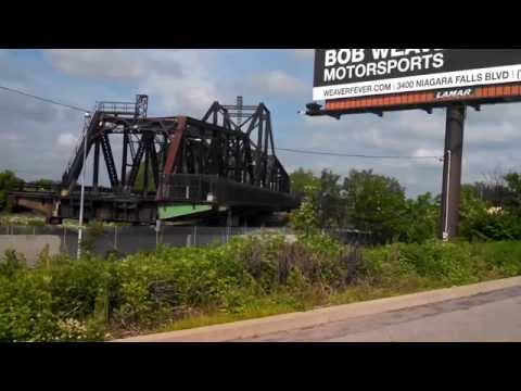 International Railroad and Black Rock Canel  bridge and  In Buffalo