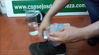 En tres minutos y con un poco de agua y una bolsa, podrás aumentar la talla de los zapatos que te queden apretados (hasta dos números).