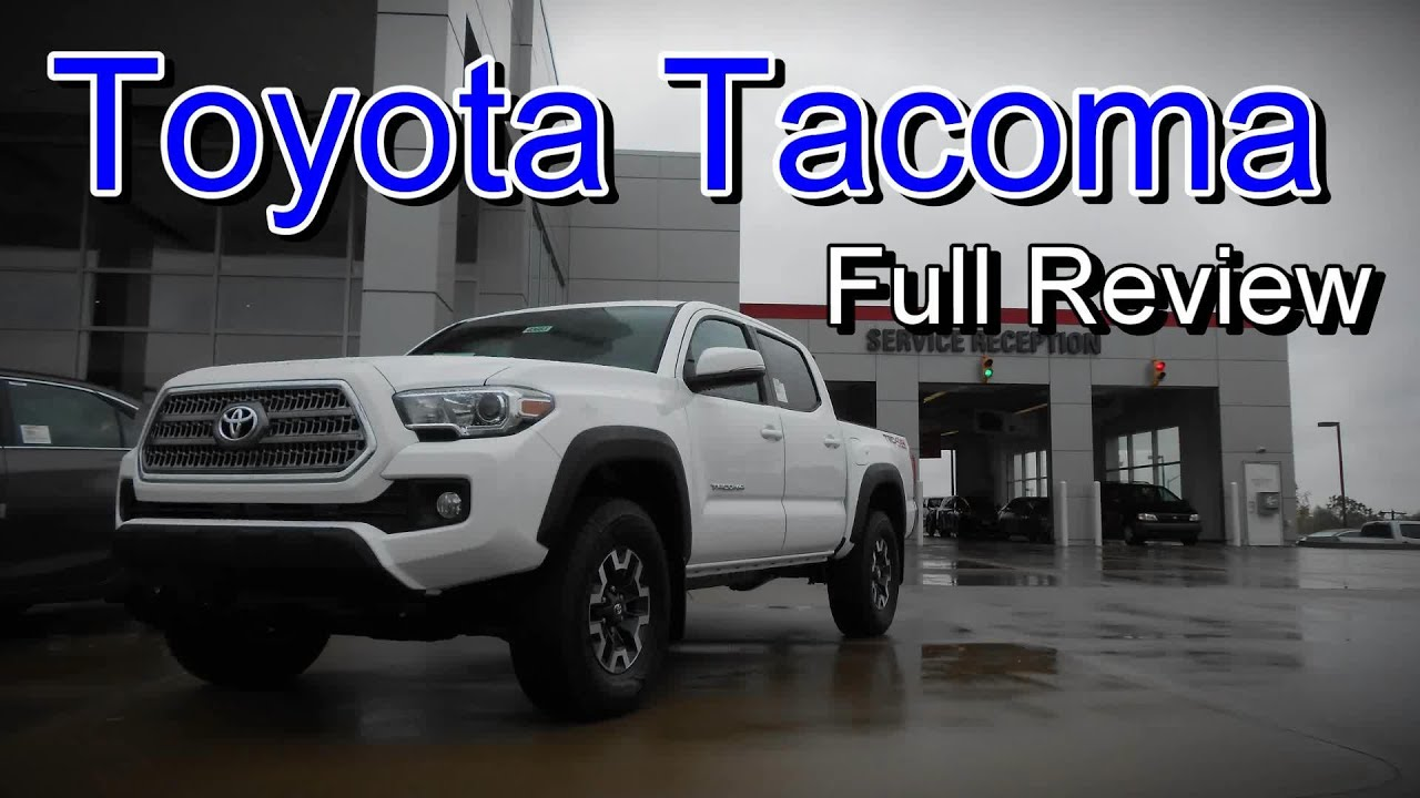 2016 toyota tacoma full review sr sr5 trd sport trd. Black Bedroom Furniture Sets. Home Design Ideas