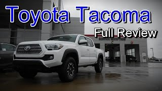 2016 Toyota Tacoma: Full Review | SR, SR5, TRD Sport, TRD Off-Road & Limited