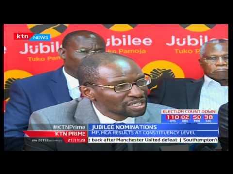 KTN Prime : Jubilee Nominations 19/4/2017