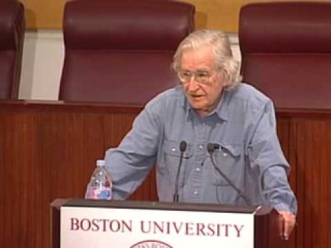 Noam Chomsky Lectures on Modern-Day American Imperialism: Middle East and Beyond