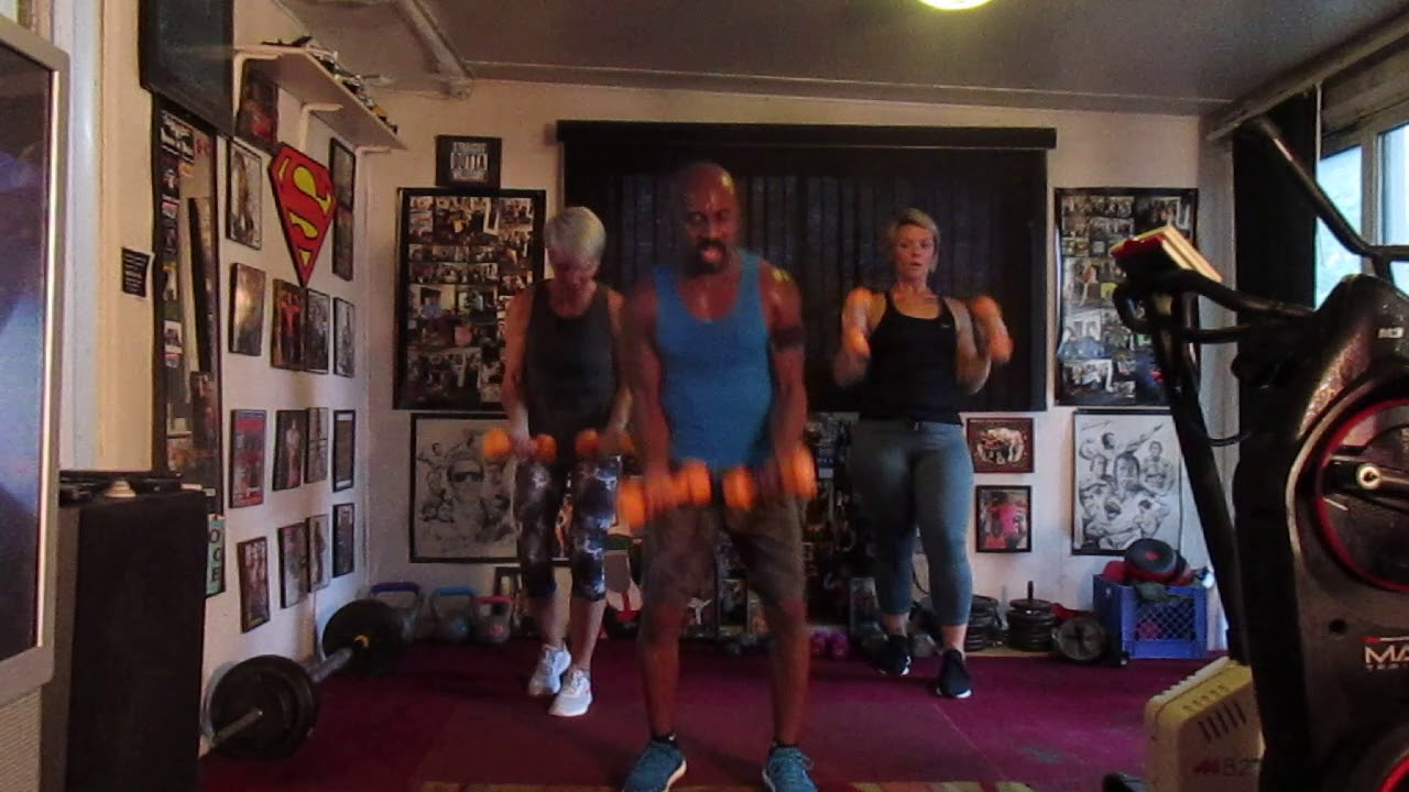 OUI!!JERIMIH SHOULDER WORKOUT!!SLOW POWERFUL WILLITARY ...