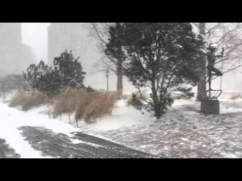 Blizzard of 2016 - Battery Park City 2