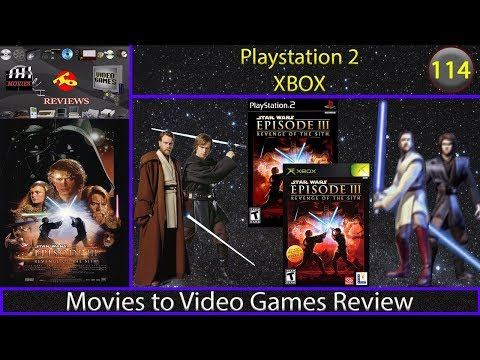 Movies to Video Games Review - Star Wars - Episode III: Revenge of the Sith (PS2/XBOX)