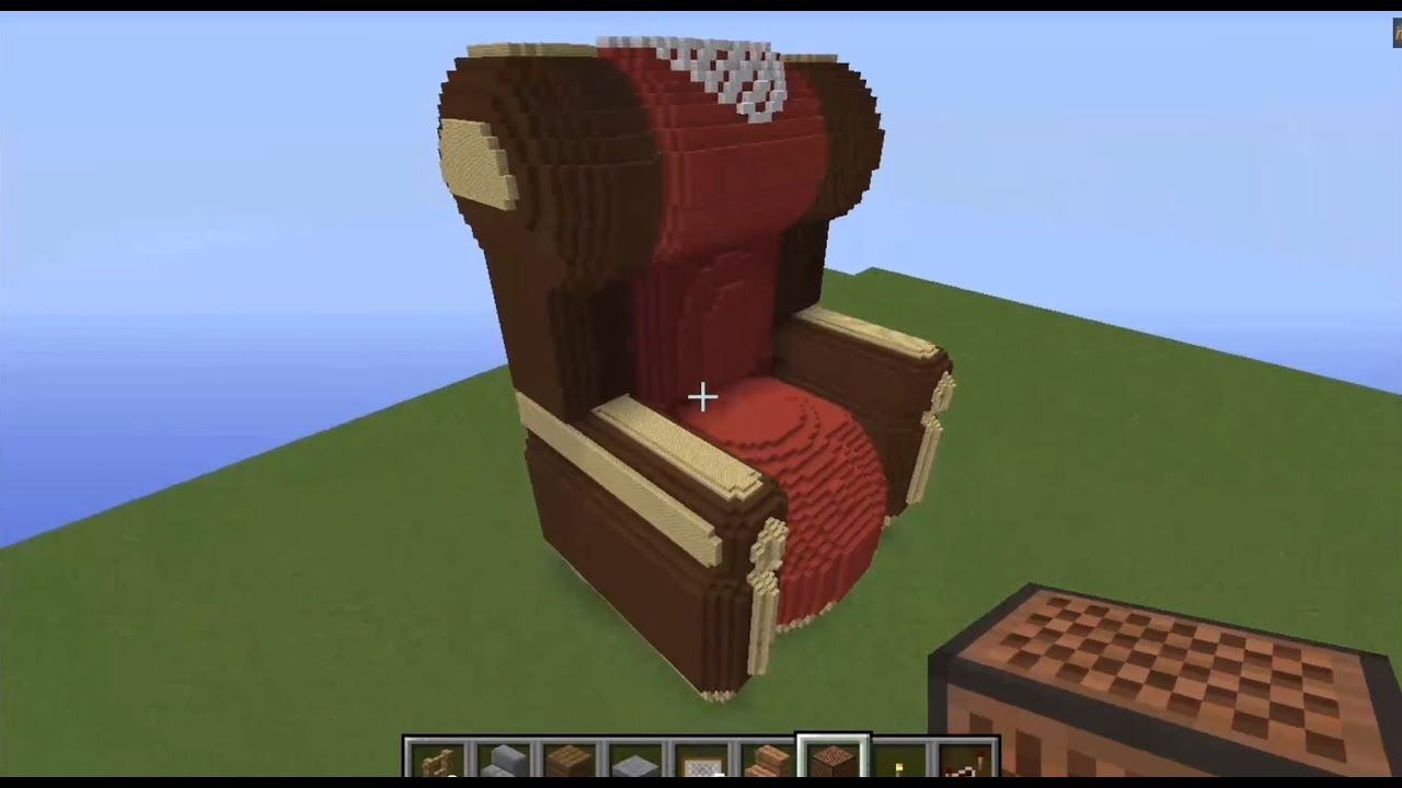 Minecraft Sessel Lets Show Minecraft Piston House Omas Sessel Part 4