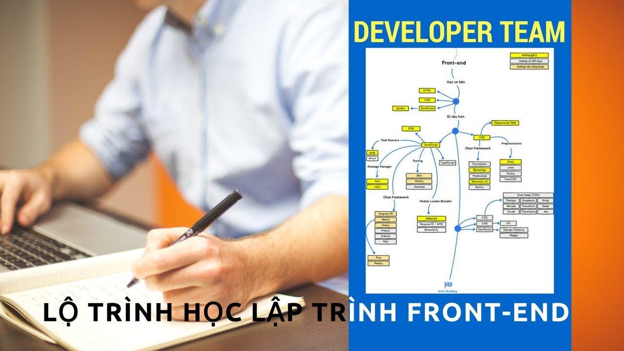 Developer Team - Lộ trình học lập trình Front-End