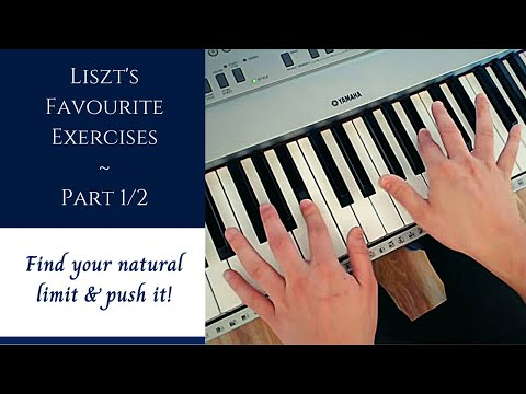 A Few Technical Exercises (as Favoured by Liszt) - Part 1/2