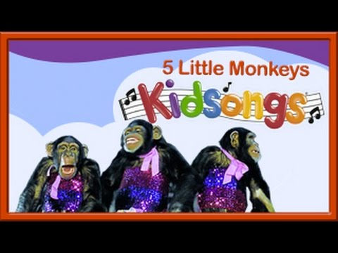 Five Little Monkeys | Kidsongs | Best Kids Videos | PBS Kids | 5 Little Monkeys | Counting Songs