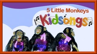 Five Little Monkeys | Kidsongs | Best Kids Videos | PBS Kids | 5 Little Monkeys | Counting Songs thumbnail