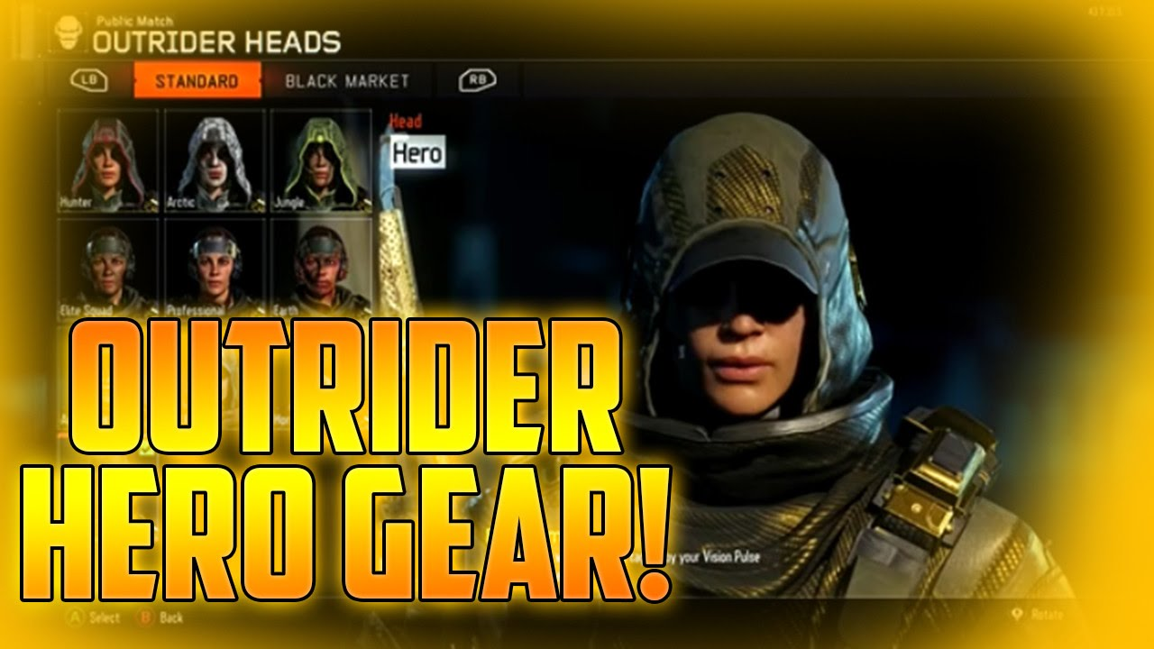 Outrider Hero Gear!!! (Guide) - YouTube