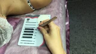 Планшет-горка Lovely с коробкой для наращивания ресниц (обзор материалов для наращивания ресниц