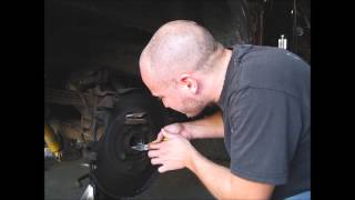 03 Ford F150 Rear Axle Seal/Bearing Replacement Part 4 - Seal/Bearing removal