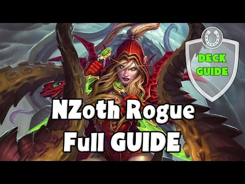 [Hearthstone] Full Deck Guide Midrange N'Zoth Rogue