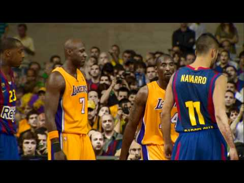 Kobe Competes in Europe