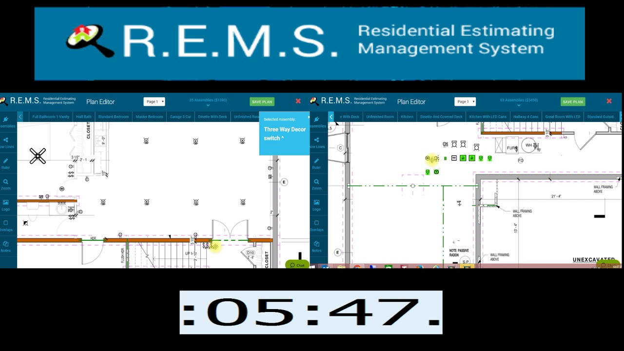 medium resolution of electrical plan estimate