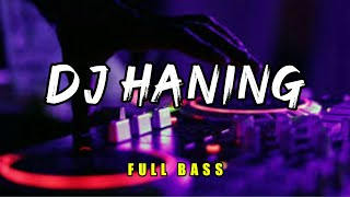 Download lagu DJ HANING FULL BASS - LAGU DAYAK