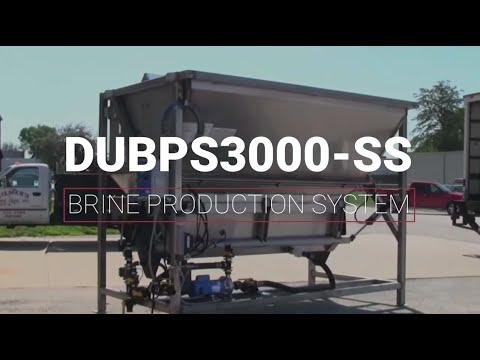 Video of Salt Brine Production System Operation   Dultmeier