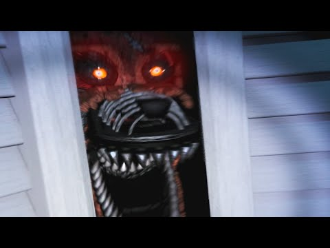 FOXY WATCHES YOU SLEEP | Five Nights at Freddy's 4 - Part 3
