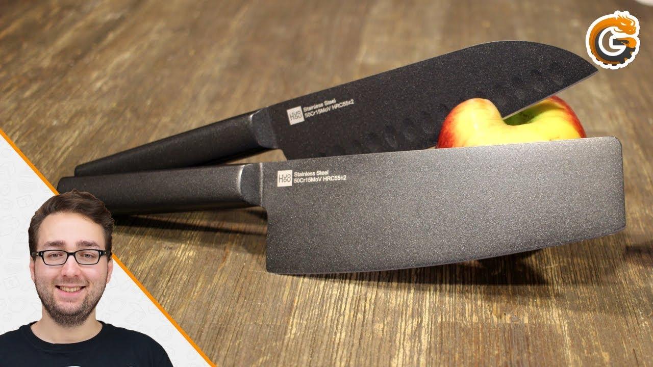 Xiaomi Youpin Chinesisches Kochmesser Set Von Huohou Fur 50 Euro Im