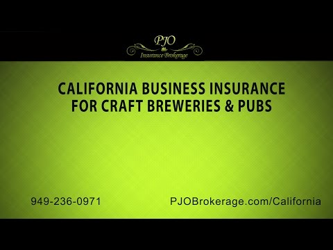 California Business Insurance For Craft Breweries & Pubs | PJO Insurance Brokerage