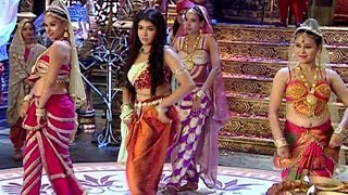 Chandra Nandini Serial On Location