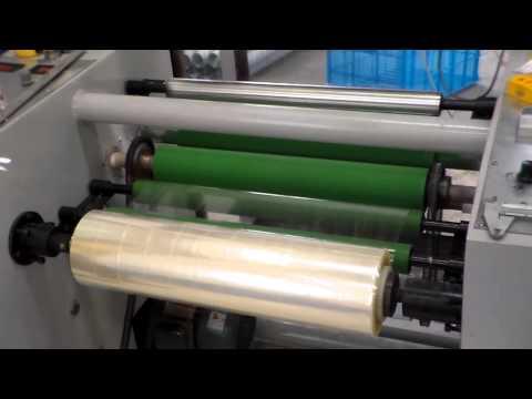 видео: Машина для изготовления скотча