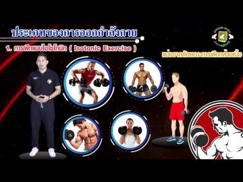 05-ประเภทของการออกกำลังกาย