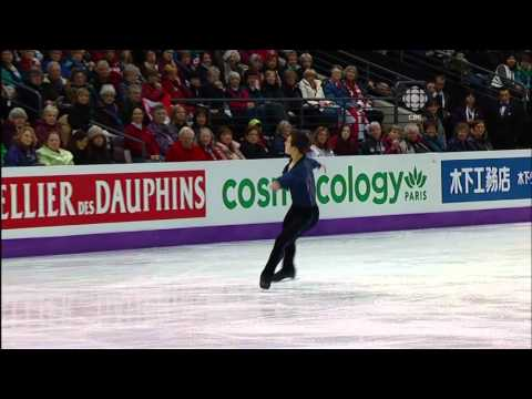 2012   2013   Worlds   Men   SP   Patrick Chan   Elegie in E Flat Minor by by Sergei Rachmaninoff