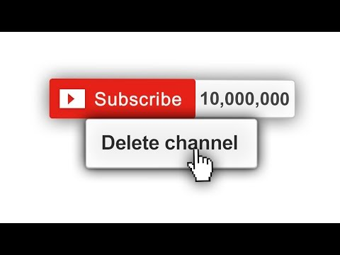 DELETING MY CHANNEL AT 10,000,000 SUBSCRIBERS!
