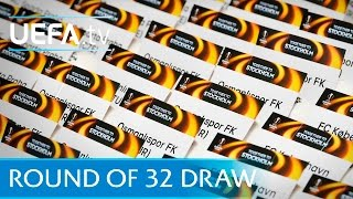 UEFA Europa League round of 32 draw in full