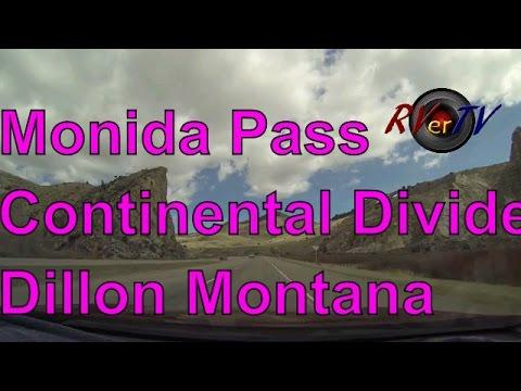 Monida Pass...I-15....Continental Divide...Dillon Montana.... RVerTV