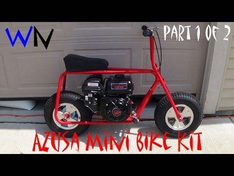 How to Build the Azusa Mini Bike Kit | Part 1 of 2