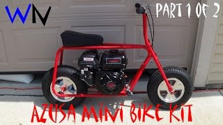 How to Build the Azusa Mini Bike Kit | Part 1 of 2