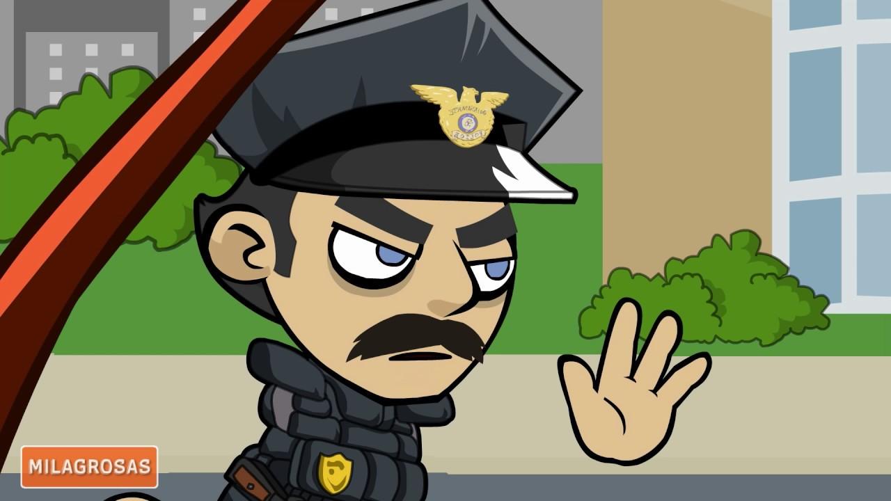 Chistes de policías   Parar o disminuir
